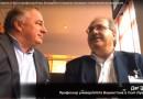 Профессор Даг Эдкинс и Игорь Бондаренко обсуждают клинические исследования